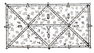 Plan view of an eight-man tent ...  sc 1 st  Zeltbahn.net & Zeltbahn.net - Tents